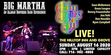 Big Martha: An Allman Brothers Band Experience tickets