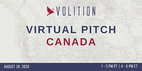 Pitch Canada (virtual) | August 26 tickets