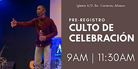 1er Culto de Celebración (9AM) tickets