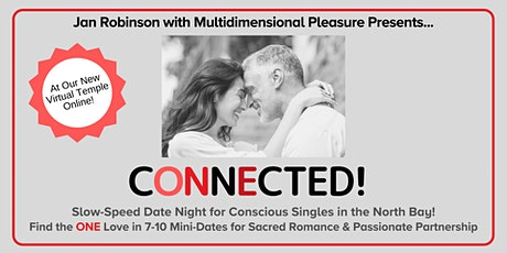 VIRTUAL Slow-Speed Date Night for Spiritual Singles|40s & 50s |North Bay tickets