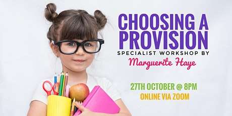 How to Choose an Education Provision tickets