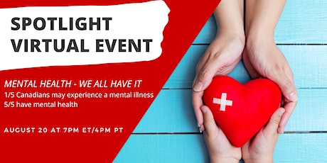 Mental Health - We All Have It tickets