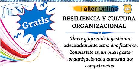 Resiliencia y Cultura organizacional ingressos