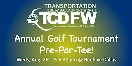 TCDFW  Annual Golf Tourney Pre-Par-Tee tickets