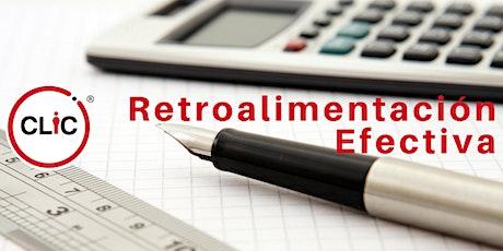 Webinar: Retroalimentación Efectiva entradas