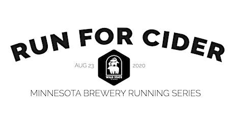 Cider Run - Wild State Cider | 2020 Minnesota Brewery Running Series tickets