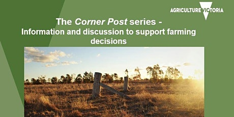 The Corner Post  - A weekly phone-in panel session for farmers tickets