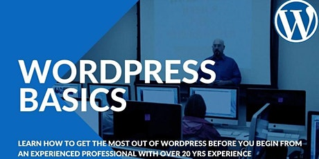 WordPress Basics: Get Started with WordPress in 2HRS tickets