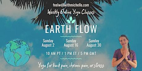 TriYoga Basics Class: Earth Flow (Online) tickets