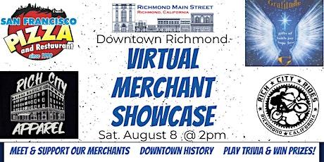 Downtown Richmond Merchants Virtual Showcase tickets