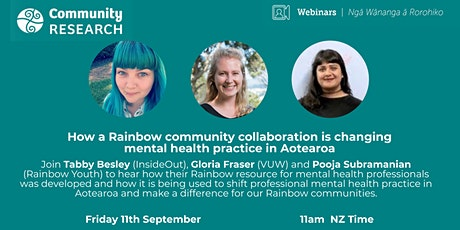 How the Rainbow community is changing mental health practice in Aotearoa tickets
