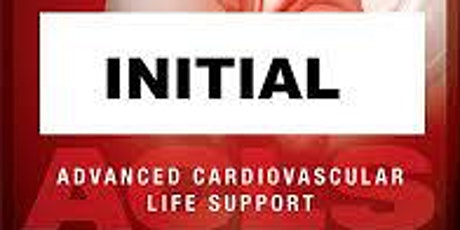 AHA ACLS 1 Day Initial Certification  September 2, 2020 (INCLUDES FREE BLS) tickets