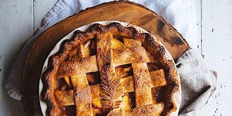 Online Baking Workshop: Artisanal Peach Pie from Scratch! tickets
