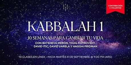 Kabbalah 1 Global | Inicia: 8.Sep.20 | 9.00PM entradas