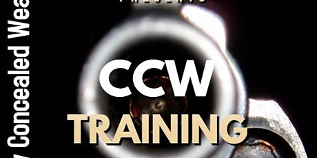 Carry Concealed Weapons Training tickets