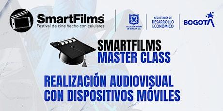 Master Class:  Realización audiovisual con dispositivos móviles.SmartFilms® entradas