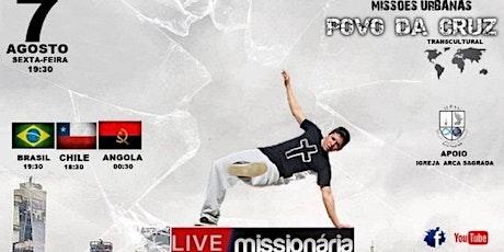 Live Missionária Povo da Cruz ingressos