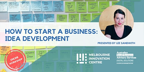 BRP How to Start a Business: Idea Development tickets