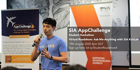 SIA AppChallenge 2020 Student Track - Ask-Me-Anything with SIA KrisLab tickets