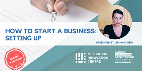 BRP How to Start a Business: Setting Up tickets