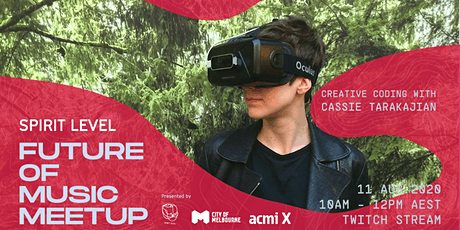 Spirit Level Future of Music Meetup: Creative Coding with Cassie Tarakajian tickets