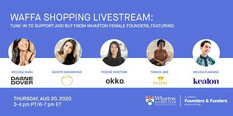 WAFFA SHOPPING LIVESTREAM tickets