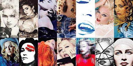 Madonna Bday Party online on Zoom- 80's & 90's music tickets