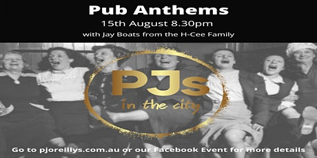 Pub Anthems at PJs in the City tickets