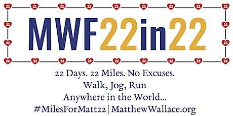 MWF22in22 Challenge Tickets