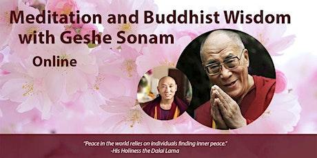 Sundays: Meditation and Wisdom on the Path with Geshe Sonam tickets