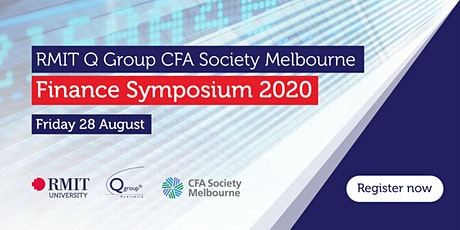 RMIT Q Group CFA Society Melbourne Finance Symposium 2020​ tickets