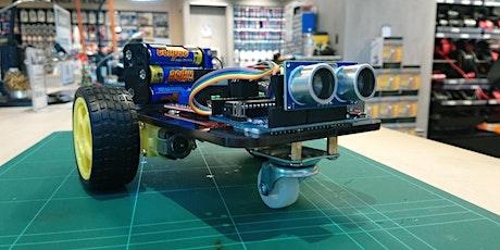 Robotics workshop for beginners: Wall Dodging Robot tickets