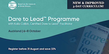 Dare to Lead™ | Auckland | 6-8 October 2020 tickets