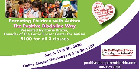 Parenting Children with Autism-The Positive Discipline Way tickets