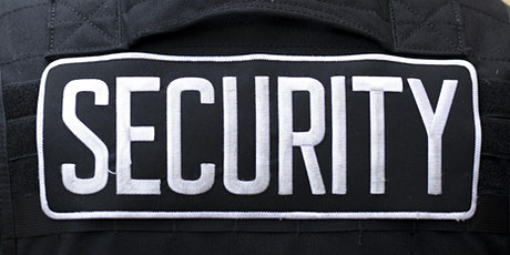 BSIS Security Guard Training tickets