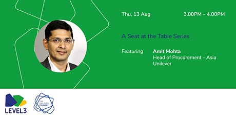A Seat at the Table with Amit Mohta tickets