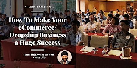 eCommerce Success Webinar Series tickets