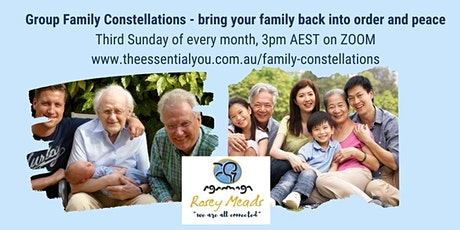 Group Family Constellations - online Tickets