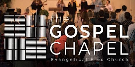 Gospel Chapel EFC Live Service tickets