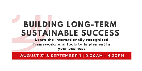 Building Long-Term Sustainable Success tickets