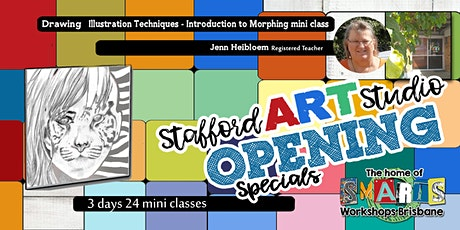 Stafford  Art Studio - Mini Class - Drawing tickets