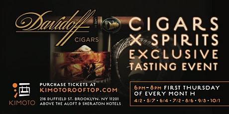 DAVIDOFF CIGAR X SPIRITS SUMMER NIGHT SERIES tickets