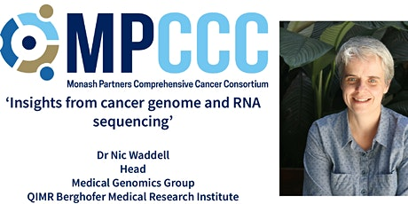 MPCCC Precision Oncology Seminar - Dr Nic Waddell tickets