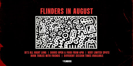 Sat 8th August | The Flinders tickets