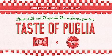 Taste of Puglia tickets
