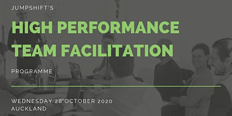 High Performance Team Facilitation Programme tickets