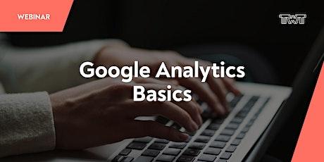 Webinar: Google Analytics - Basics Tickets