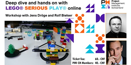 Deep dive and hands on with LEGO® SERIOUS PLAY® online tickets