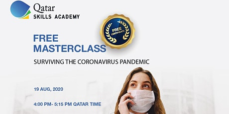 (Free Webinar) Surviving the COVID-19 Pandemic tickets