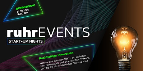 SUN - Nachhaltige Innovation Tickets